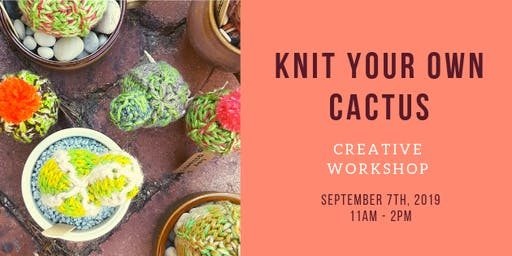 Knit your own Cactus