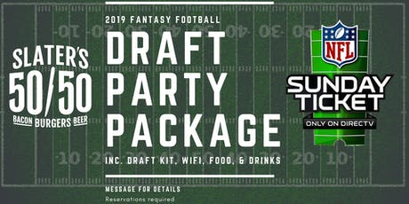 Fantasy Football Draft Party tickets