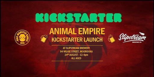 Animal Empire Kickstarter Launch at Slipstream Brewery