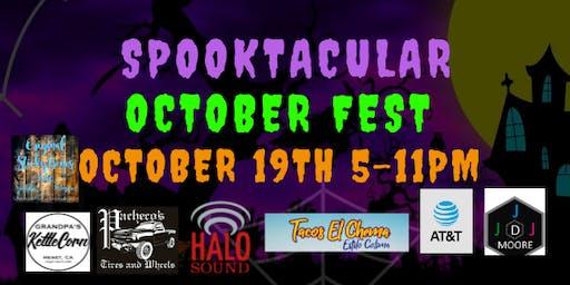 Spooktacular October Fest Tickets