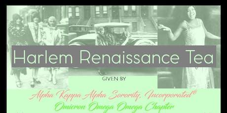 Harlem Renaissance Tea tickets