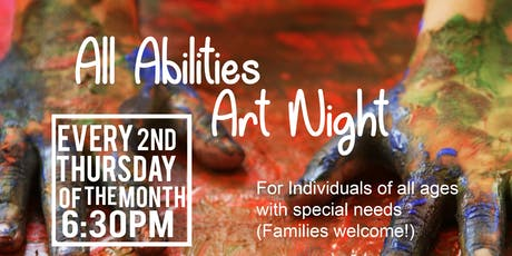 All Abilities Art Night tickets