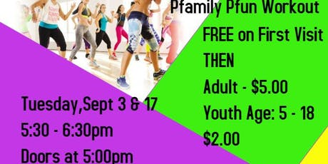 September - Pflugerville Pfriends and Pfamily Fun Workout tickets