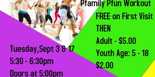 September - Pflugerville Pfriends and Pfamily Fun Workout
