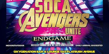 Soca Avengers Unite: Endgame tickets