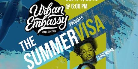 The Urban Embassy Presents  : The Summer Visa tickets