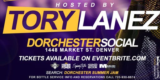 Hip Hop Star *TORY LANEZ* Hosts SUMMER JAM Afterparty @ DORCHESTER