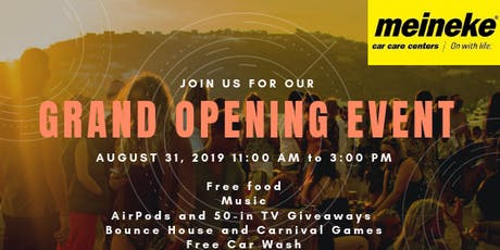 Grand Opening Event! Free Food, Games and Prizes (AirPods and 50-inch TV!) tickets