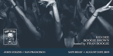 Hip Hop, R&B, and Latin dance party at JOHN COLINS tickets