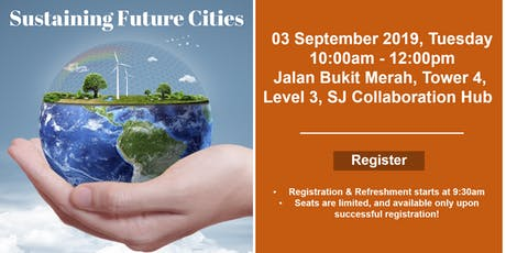 Public Lecture: Sustaining Future Cities tickets
