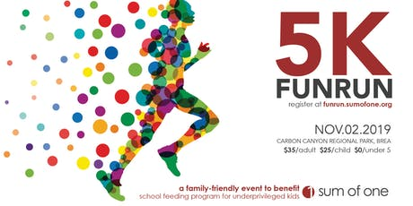 2nd Annual Fun Run and Walk hosted by the Sum of One tickets