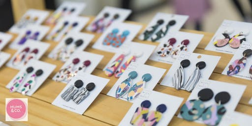 Mums & Co: Mica + Macc polymer clay earrings workshop