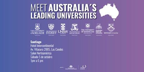 Meet Australia's Leading Universities in Santiago 2019 tickets