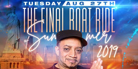 The FINAL SHADOW TUESDAY BOATRIDE of Summer of 2019 tickets