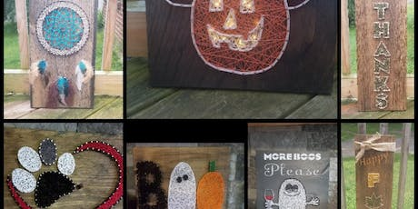 String Art with Lisa at Hammer and Stain tickets