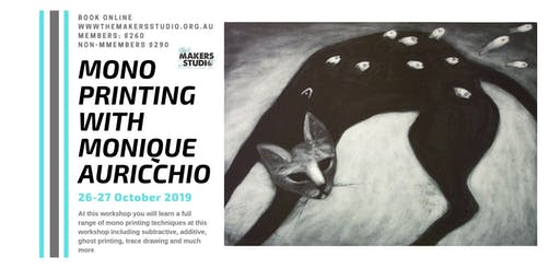 Mono Printing with Monique Auricchio