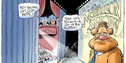 Not just funny: cartoons and politics