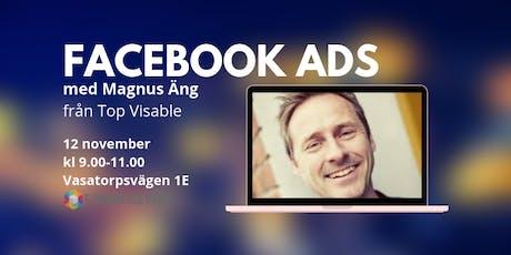 Facebook Ads: Hur gör jag? tickets