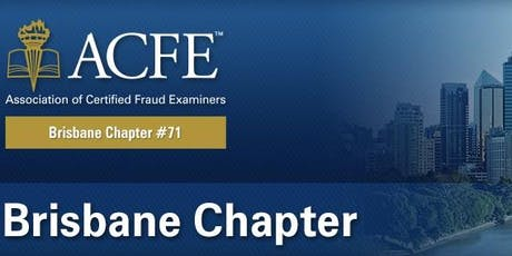 September 2019 ACFE Brisbane Chapter Meeting tickets