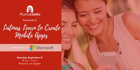 Latinas Learn to Create Mobile Apps with PowerApps tickets