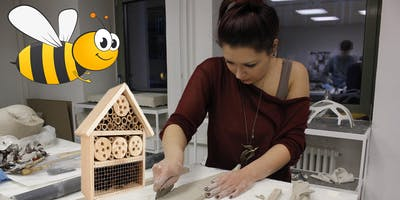 Insektenhäuser-Workshop mit Dina Bharucha