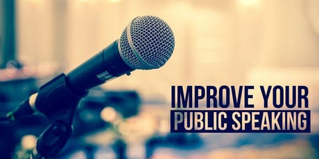 Learn/ Practise/ Improve your Public Speaking tickets
