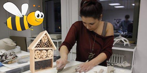 Insektenhotels mit Dina Bharucha