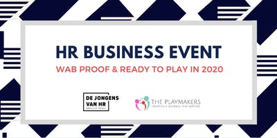 HR Business Event: WAB Proof & Ready to Play in 2020