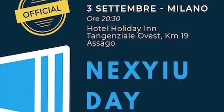 Nexyiu Day Milano biglietti