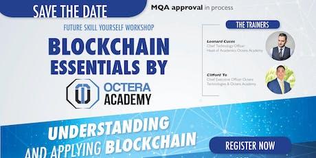Blockchain Essentials, Understanding and applicability tickets