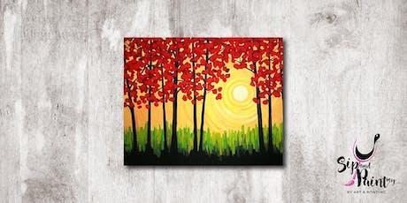 Sip & Paint MY @ Hubba Mont Kiara : Autumn tickets