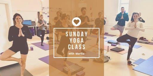 Sunday Yoga Class 29.09