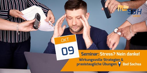 Seminar: Stress? Nein Danke!