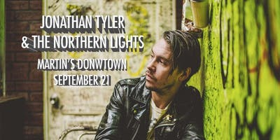 Jonathan Tyler and The Northern Lights at Martin's Downtown Jackson MS