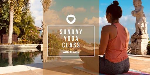 Sunday Yoga Class 15.09