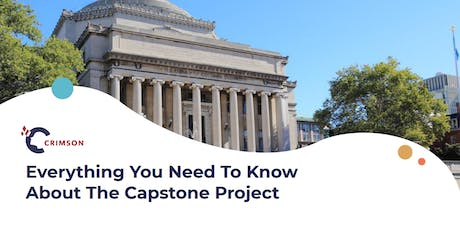 Everything You Need To Know About The Capstone Project tickets