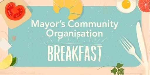 Mayor's Community Organisation Breakfast