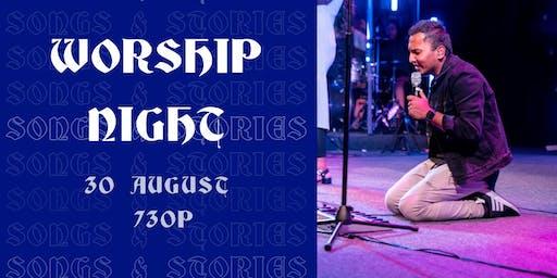 WORSHIP NIGHT - Songs & Stories