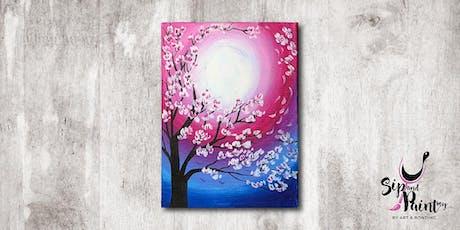 Sip & Paint MY @ EGG Sunway: Sakura tickets