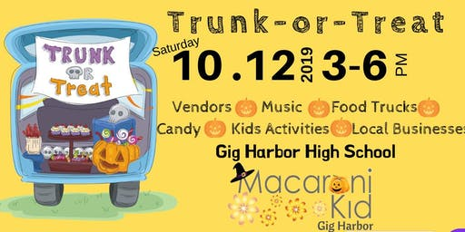 Gig Harbor Macaroni Kid Trunk-or-Treat
