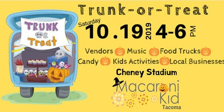 Tacoma Macaroni Kid Trunk-or-Treat tickets