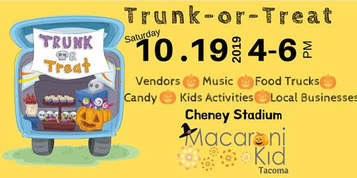 Tacoma Macaroni Kid Trunk-or-Treat