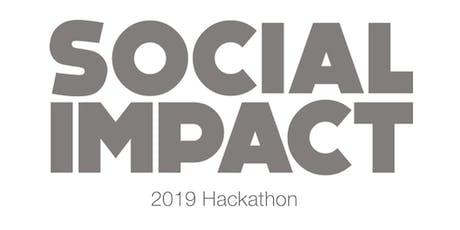 Social Impact Hackathon - 2019 tickets