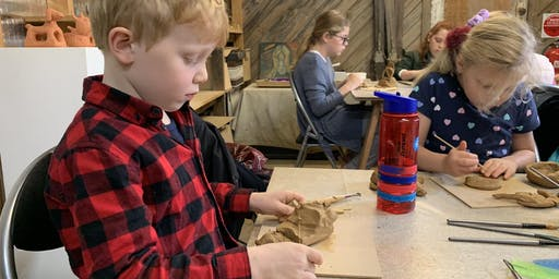 Mysterious Masks  - make your own clay mask!