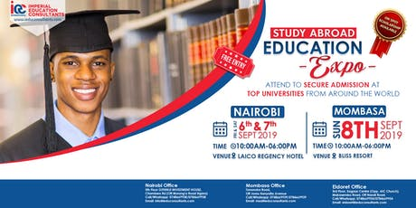 IEC INTERNATIONAL UNIVERSITIES EXPO 2019 (Nairobi) tickets