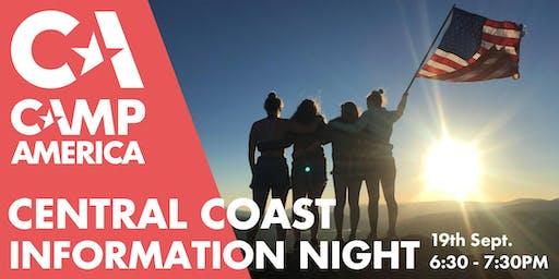 Central Coast - Camp America Info Session