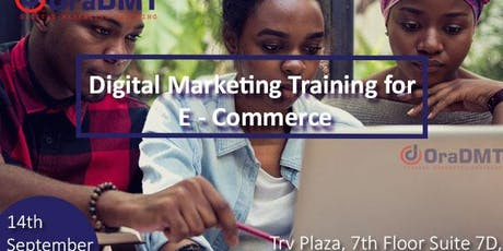 Digital Marketing For E-commerce tickets