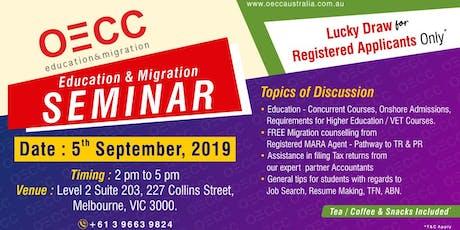 OECC Education & Migration Seminar tickets