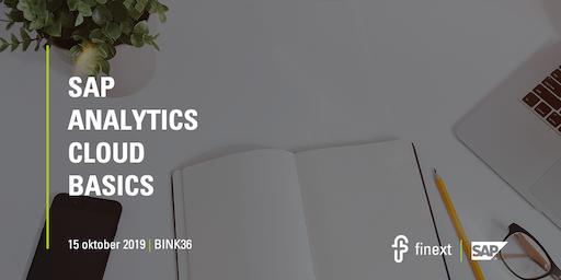 SAP Analytics Cloud Basics