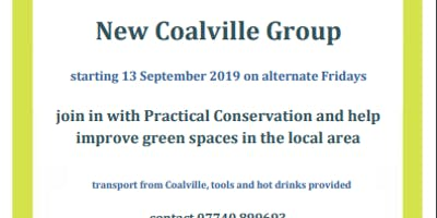 The Conservation Volunteers Coalville Group